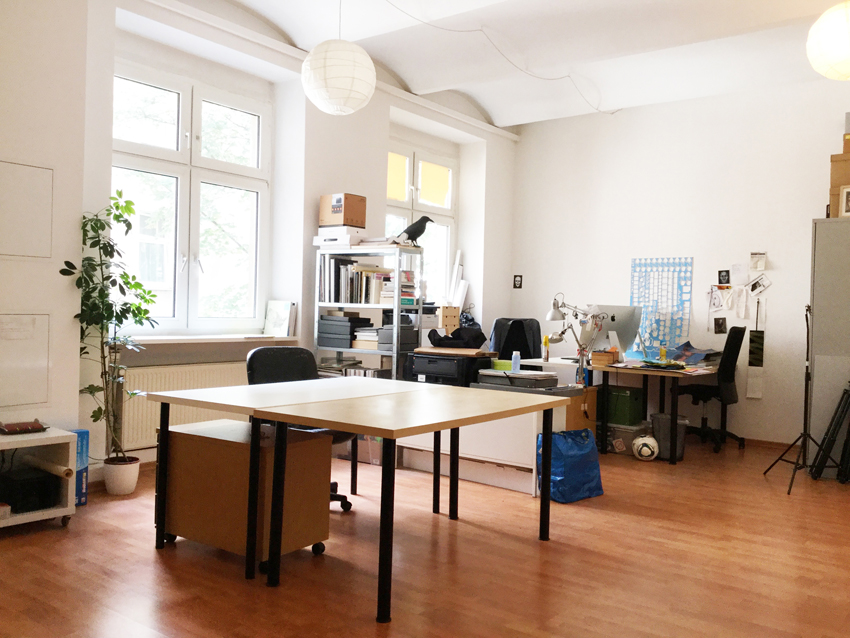 Maybachufer Berlin Office Desk Space Schreibtisch Atelierplatz